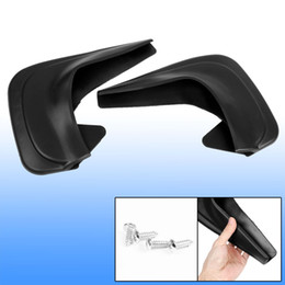 2PCS Universal Plastic Black Shield Mud Guards Splash Flaps pour véhicule automobile à partir de fabricateur