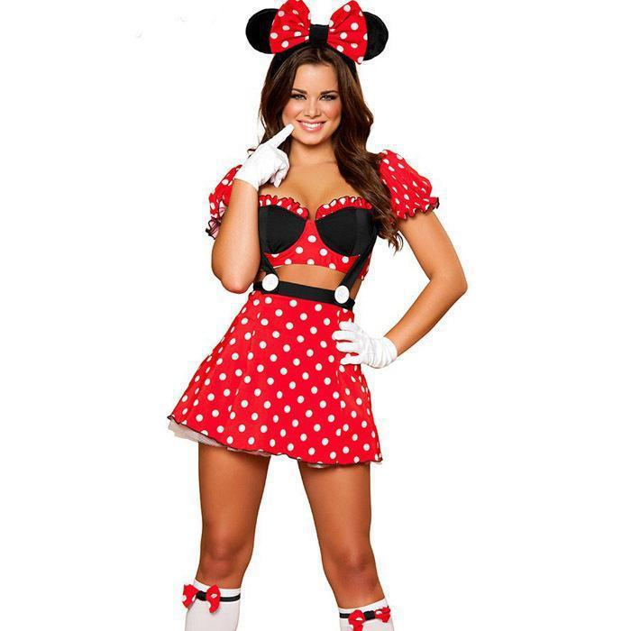 Sexy minnie mouse halloween costumes 2018