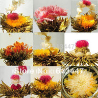Wholesale 20 kinds Blooming tea individual package Artistic Blossom Flower Tea Free Gift