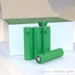 Wholesale Cheapest E Cig Battery Mods - Battery Cheapest VTC3 VTC4 18650 battery for e cigarette mod e cig US 18650 3.7V 1600mAh 2100mAh