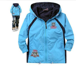 Wholesale Wholesale Coats Jackets For Children - 2014 New Style Kids Jackets Coats Boy Wind-Breaker Coat And Jacket For Children Spring And Autumn