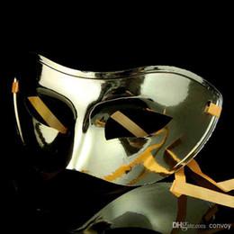 2019 хэллоуин кремний 2014 Хэллоуин маски мужской маска для глаз маскарад маска партия маска кардан Венецианский пол-лица маски домино таинственные прохладные маски HM45