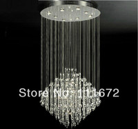 Wholesale Modern Chandeliers For Sale - hot sales flush mount modern crystal chandelier best K9 crystal lamp for home hotel restaurant stairs droplight