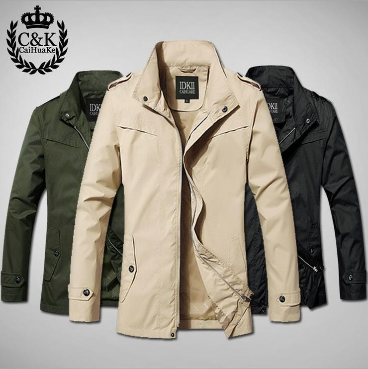 Wholesale 2015 Spring Men'S Trench Coat Casual Fashion Mens ...