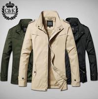 Wholesale Wind Jacket Cheap - Wholesale-2015 Spring Men's Trench Coat Casual Fashion Mens Overcoat Wind Breaker Slim Parker Matching Windbreaker Men Jackets Cheap