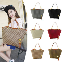 Wholesale Canvas Bag Wholesalers - Wholesale Brand New High Quality Canvas Chain shoulder fashion bags free shipping H12823
