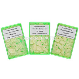 Wholesale Dental Restorative Materials - Wholesale-Ultrathin Dental Componeer Composite Resin Veneer Upper Anterior Teeth A1 A2 A3 Shade Restorative Tooth Whitening Materials