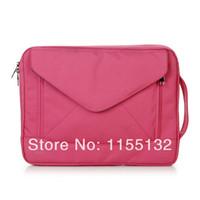 Wholesale Shoulder Tablet - Hotsale!Free shipping Brand Brinch Waterproof shockproof laptop bag 10 14 15.6 inch shoulder portable bladder fashion notebook tablet bag