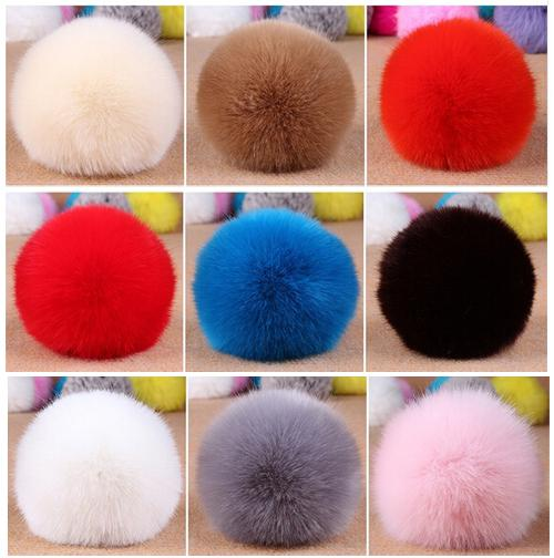 dd0a576a73 Wholesale-Wholesale Faux Rabbit Fur Fluffy Pom Pom Balls Mobile Chain  Straps Handbag Chains Key Chains Chain Lu Chain System Online with   25.57 Piece on ...