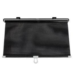 Wholesale Vehicle Window Shades - 40cm x 60cm Black Retractable Vehicle Curtain Window Roller Sun Shade Protector