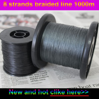 Wholesale Meters Boat - japanese 8 strands braided fishing line 1000m 40lb-200lb sufix multifilament fishing wire fishing tackle