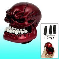 Wholesale Burgundy Universal Car Manual Gear Skull Shift Knob New