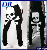 Wholesale drop crotch skinny pants men - Wholesale-Top Designers 2014 New Men Drop Crotch Harem Bandana Pants Hip Hop Dance Sweatpants Joggers Cargo Trousers Skinny