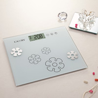Wholesale Digital Touch Scale - Wholesale-Fat Scale Electronic Body Weight Scale Digital Balance with Touch Button and Multi function
