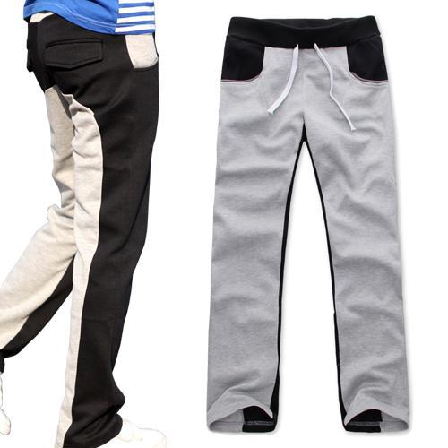 Vente en gros-2013 livraison gratuite formation hommes basket-ball sport porter des pantalons pantalons Bleu Noir Gris M-XXL JPCK09