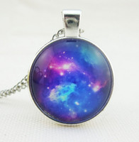 Wholesale Wholesale Fancy Jewellery - New Fancy Sparkling Sky Long Pendant Necklaces Fashion Costume Jewellery for Women Girl 8 Styles Free Shipping