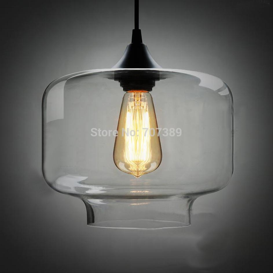 jar pendant lighting. Clear/Smoked Candy Jar Glass Pendant Lamp,40w Blown Dia.18cm Light,E27 Light Source. Contemporary Hanging Lights Lamps For Bedroom Lighting L
