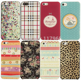 Wholesale Fashion Iphone 5c Cases - Wholesale-Min.order is $10 (mix order)Hot Fashion Hard Back Case Cover For Iphone 5C EC181