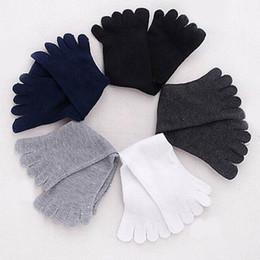 Wholesale Shoes For Men Fingers - Wholesale-Men Women Socks Sports Ideal For Five 5 Finger Toe Shoes Unisex
