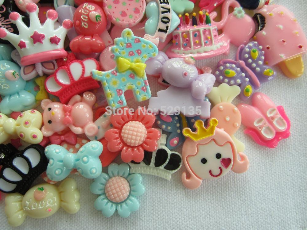 1f2260479 Order Is $10 , Kawaii Sets, Resin Flatback Cabochon For Hair Bow Center,  DIY From Galry, $20.89 | DHgate.Com