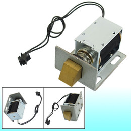 Wholesale Hold 12v - 1240L-12E07 DC 12V 20.6W 1kg Holding Solenoid for Electric Door Lock