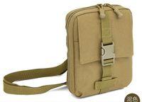 Wholesale Tablet Case Shoulder Bag - Wholesale-D5 Outdoor Nylon Messenger Bag Tablet PC Case Men Hand Bags Mobile Phone Shoulder Pouches Card Cover Molle Waist Pack Camouflage