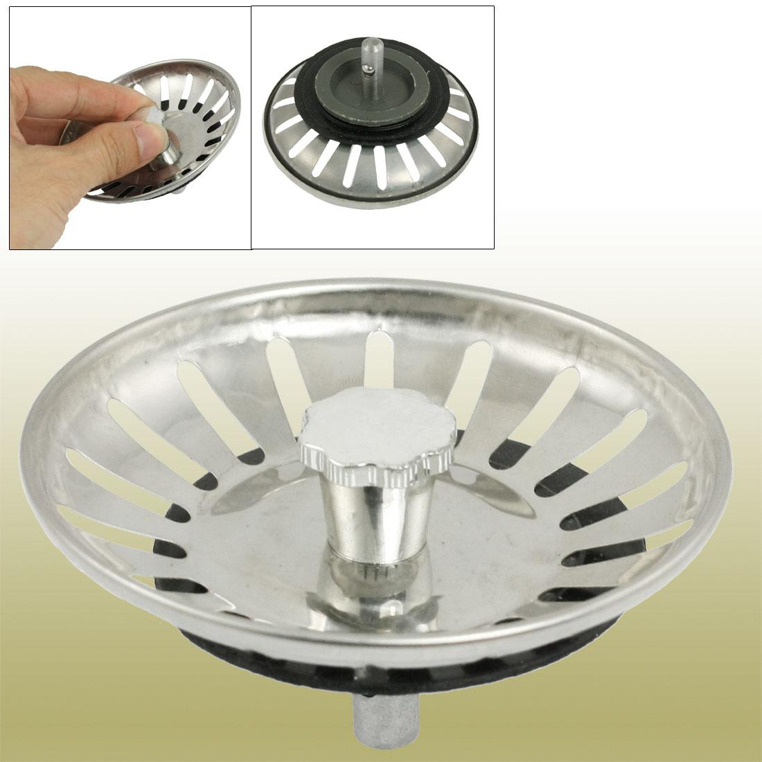 online cheap 3 inch dia stainless steel kitchen sink strainer