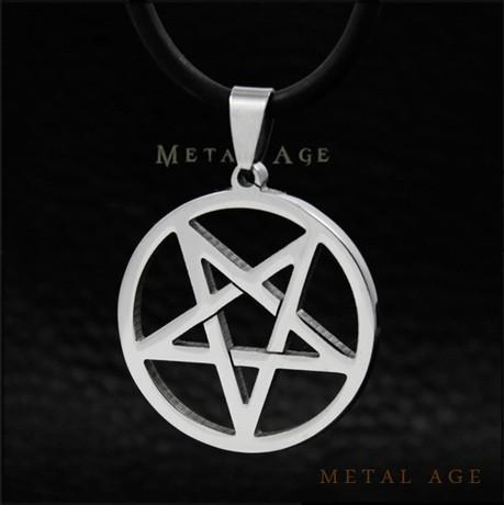 Wholesale wholesale downward pointing pentagram pentacle titanium wholesale wholesale downward pointing pentagram pentacle titanium steel satanism pendant necklace inverted pentagram satan gothic antichrist necklaces for aloadofball