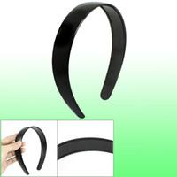 Wholesale Diy Hair Band Plastic - Ladies Hairstyle DIY Plastic Hair Hoop Head Band Black