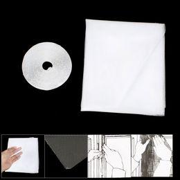 Wholesale Diy Mosquito Net Screen - Insect Fly Mosquito DIY Door Net Netting Mesh Screen White