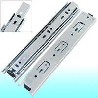 Wholesale Ball Extension - 2 Pcs 230mm-440mm Full Extension Ball Bearing Telescopic Drawer Slides