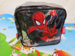 Wholesale Spider Backpack - Wholesale-spider man lunch bag thermal bag frozen lunch box for kids neoprene thermal bag lunch bag for children