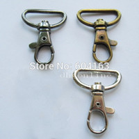"""Wholesale Color Snap Clips - Wholesale-Lot 50 SWIVEL CLIPS SNAP Hook METAL TRIGGER Lanyard Webbing 1"""" 25mm SC1AA Color Choice"""