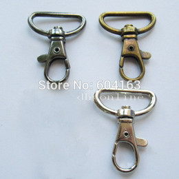 "Wholesale Lanyards Hook - Wholesale-Lot 50 SWIVEL CLIPS SNAP Hook METAL TRIGGER Lanyard Webbing 1"" 25mm SC1AA Color Choice"