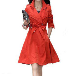 Discount Double Breasted Lady Coat Dress   2017 Double Breasted ...