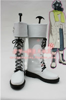 Wholesale Dramatical Murder Cosplay Costume - Wholesale-free shipping DRAMAtical Murder (DMMD) cosplay costume- Clear Boots Shoes cosplay shoes boots Custom Made