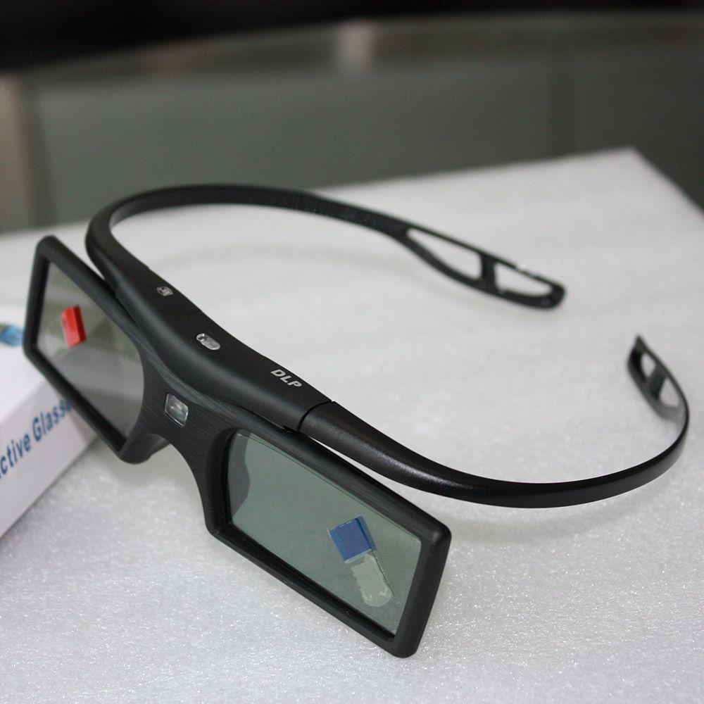 G15-DLP 3D Active Shutter Glasses 96-144Hz for LG/BENQ/ACER/SHARP DLP Link 3D TV Projector 3D Glasses passive V849