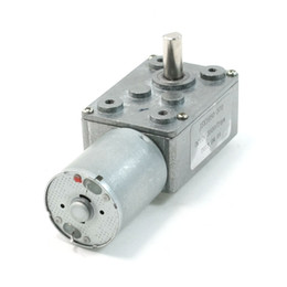 Wholesale Drive Motors 12v - 3500 2RPM Output Rotating Speed 2 Pin 6mm Drive Shaft Geared Motor DC 12V Volts
