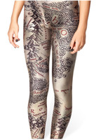 Wholesale Middle Earth Leggings - Wholesale-Middle Earth Map Lord of the Rings LOTR Leggings Cosplay Black Fancy 004