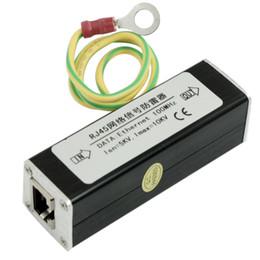 Wholesale Ethernet Protector - RJ45 Plug Ethernet Network Surge Protector Thunder Arrester