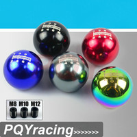 Wholesale Mazda Gear Shift Knobs - J2 RACING STORE-Universal MUGEN Gear Shift Knob 6 six Speed Manual Automatic Spherical Shift Knob For Honda Acura TOYOTA MAZDA