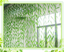 Wholesale Artificial Willow Vines - Wholesale-100x 1.8m Artificial Willow Vine Wicker Twig Green Leaves Flower Vines Fake Plant Ivy Plastic Simulation Courtyard Decoration