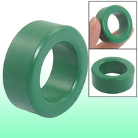 Wholesale Power Ferrite - 0.6 Inch Thickness Green Iron Core Power Inductor Ferrite Rings Toroid