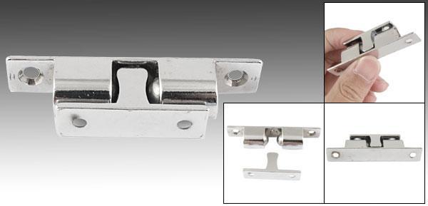 Placard double balle Loquet ton argent en alliage de zinc porte 67/mm