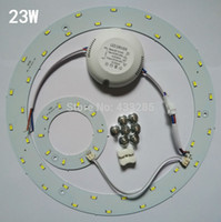 Wholesale Led Board 5w - 5W 12W 15W 18W 23W LED Ring PANEL Circle Light AC85-265V SMD 5730 LED Round Ceiling board the circular lamp board