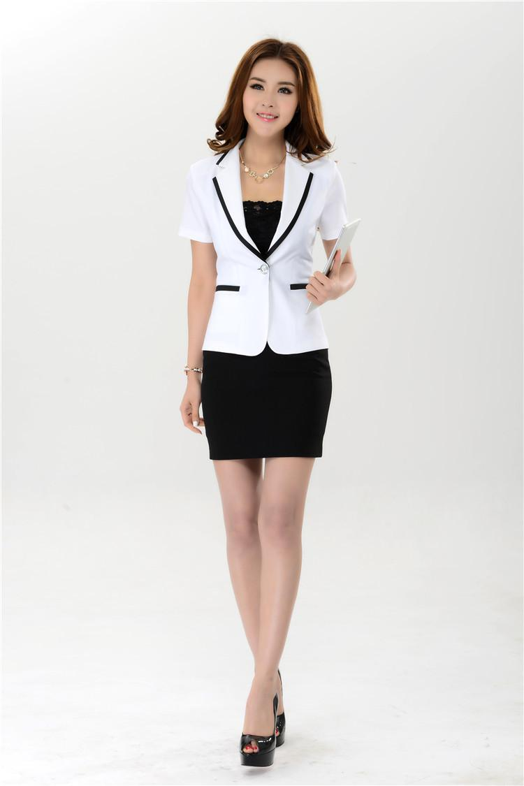 Best Wholesale 2015 New Fashion Women'S Business Work Suits Short ...