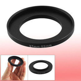 Wholesale 37mm 52mm - Camera Lens Filter Step Up Ring 37mm to 52mm Adapter Black
