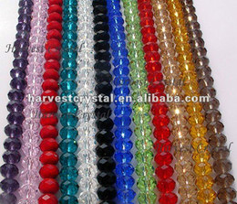 Wholesale 8mm Beads Free Shipping - FREE SHIPPING!! AAA Top Quality 4mm,6mm,8mm,10mm,12mm,16mm Crystal Rondelle 5040 Beads