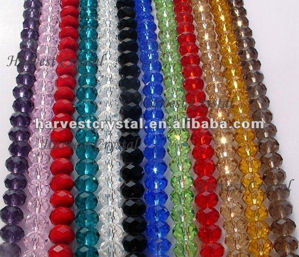 FREE SHIPPING!! AAA Top Quality 4mm,6mm,8mm,10mm,12mm,16mm Crystal Rondelle 5040 Beads