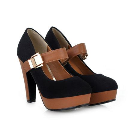 Wholesale Rome Style Platform Shoes For Women Fashion Thick Heel Pumps  Ladies Dress Casual Shoes Sexy High Heels Pumps Womens Shoes Shoes For  Women From ... 855ebd604d0a
